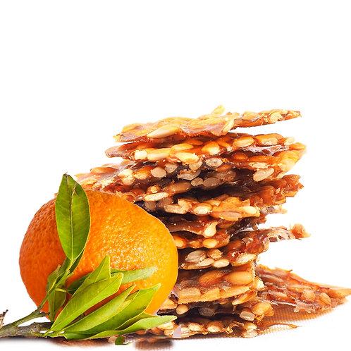 FruchtStreifen Orange-Sonnenblumenkerne ab 50g