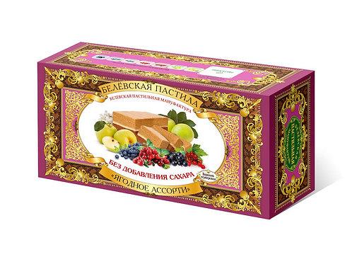 Belyov Apfelschnitte Beerenmix, 100g