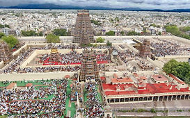 An_aerial_view_of_Madurai_city_from_atop