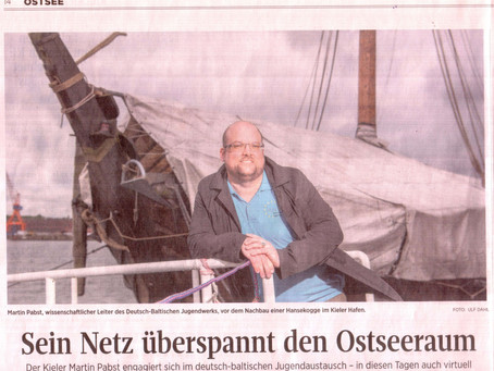 "Ganz offiziell ein ""Ostseekopf"""
