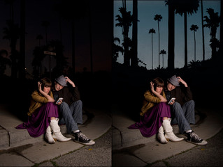 Before / After Photoshop