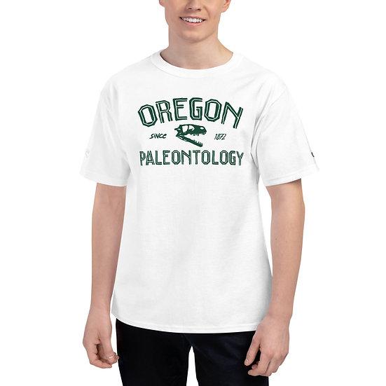 Oregon Paleontology Since 1872 Men's Champion T-Shirt