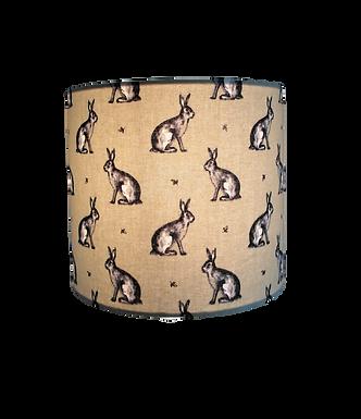 Country Rabbit Sage,  Handmade Lampshade
