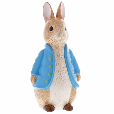 Beatrix Potter Sculpted Peter Rabbit Money Bank