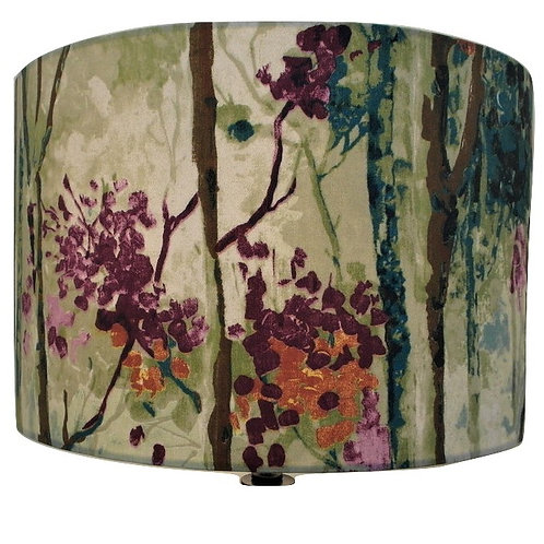 Silver Birch, Woodland Drum or Hexagon Lampshade