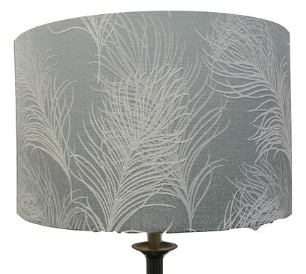 Duck Egg Feather Shade Drum or Empire Shapes