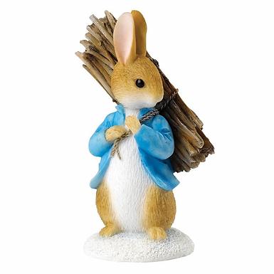 Beatrix Potter, Peter Carrying Sticks, Mini Figure