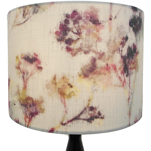 Botanical Watercolour fabric Handmade Lampshade, Drum or Empire Shapes