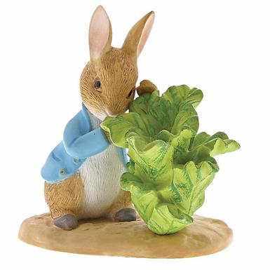 Beatrix Potter, Peter with Lettuce, Mini Figure, A29641