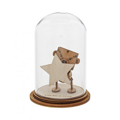 You're a Star Figurine, Kloche Little Wooden Bear