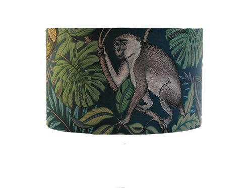 Monkey Tropical Handmade Lampshade