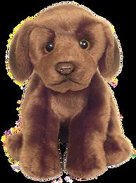 12'' Chocolate Labrador Soft Toy