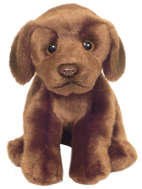12'' Chocolate Labrador Soft Toy