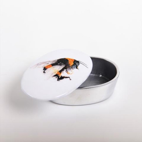 Bee Recycled Aluminium Trinket Box
