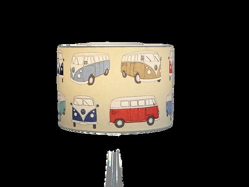 VW Volkswagen Campervan Handmade Lampshade