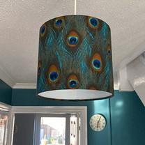 Peacock 30cm drum