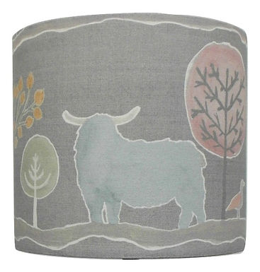 Voyage Maison Ariundle Cow Handmade Lampshade