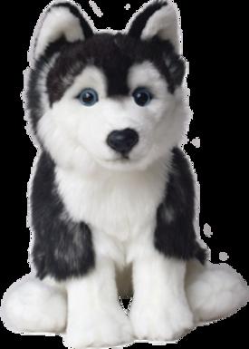 12'' Siberian Husky Soft Toy