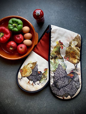 Hen Oven Gloves