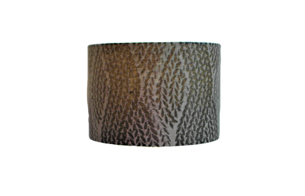 Textured Wave Black, Grey and Beige Handmade Lampshade, Drum or Empire Shapes