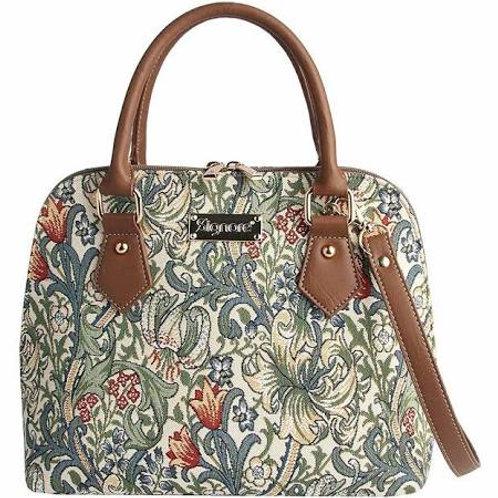 Signare William Morris Golden Lily Top Handle Bag