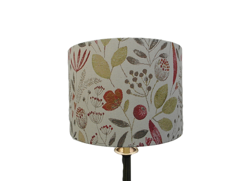 Red Meadow Handmade Drum Lampshade