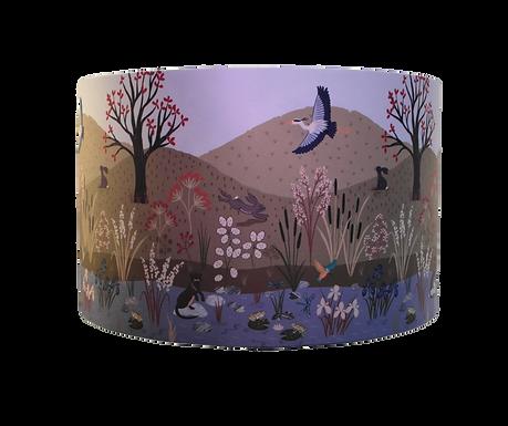 The Water Meadow Wildlife Handmade Lampshade