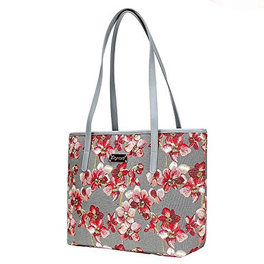 Signare Tapestry Orchid Shoulder Tote Bag