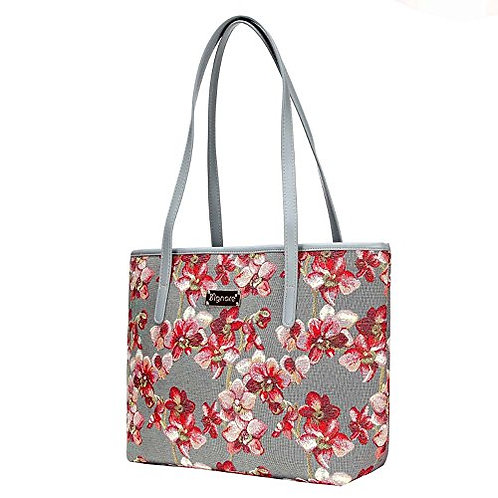 Signare Tapestry Orchid Shoulder Tote Bag