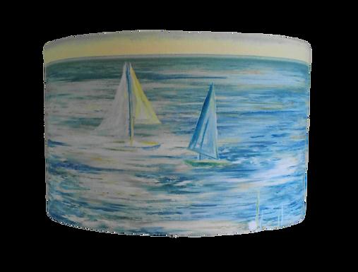 Ocean Sailing Vista 40cm Drum Shade