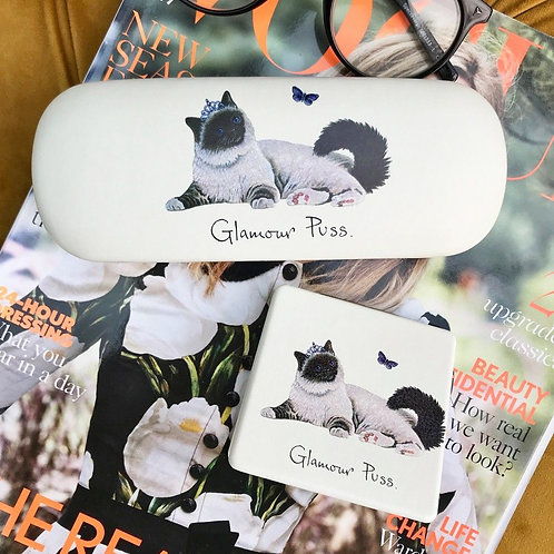 'Glamour Puss' Hard Glasses case