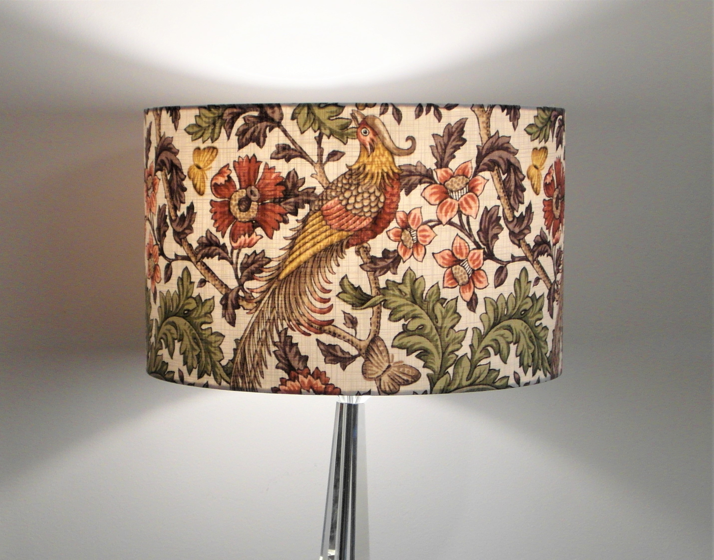 Oakmere Birds Classic Design Handmade Lampshade
