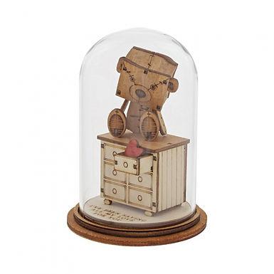 Lots of Love... Figurine, Kloche Little Wooden Bear