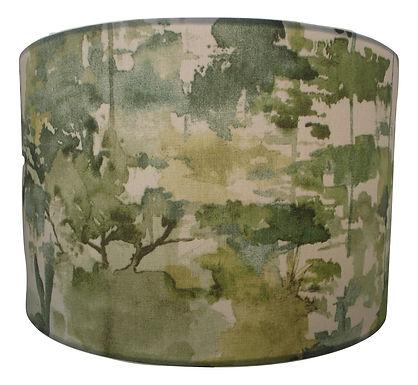 Alfresco Green Handmade Lampshade, Drum or Empire Shapes