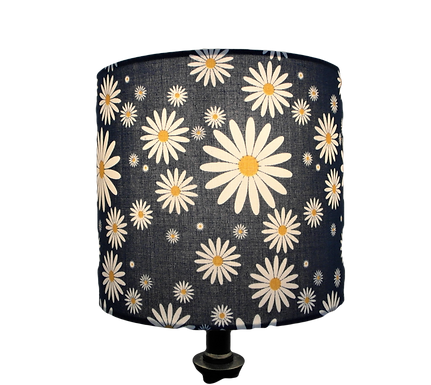 Blue Daisys Fabric Drum or Empire Lampshade