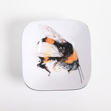 Bee Recycled Aluminium Square Bowl