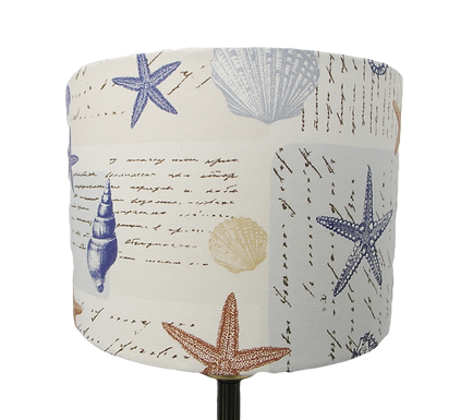 Ocean Beach Themed Handmade Lampshade