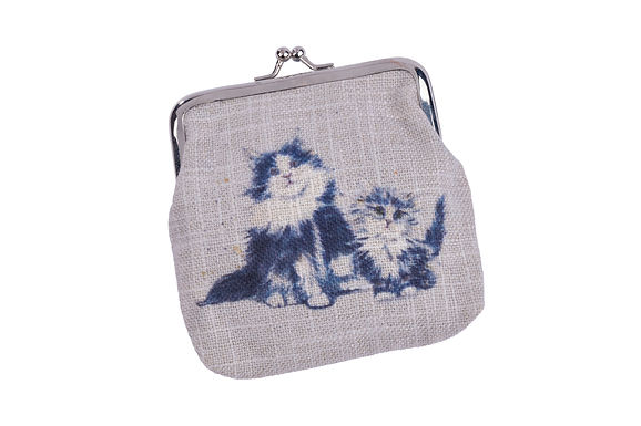 Cat Clip Top Coin Purse