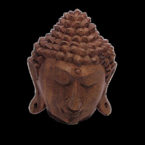 Buddah Hand Carved Head