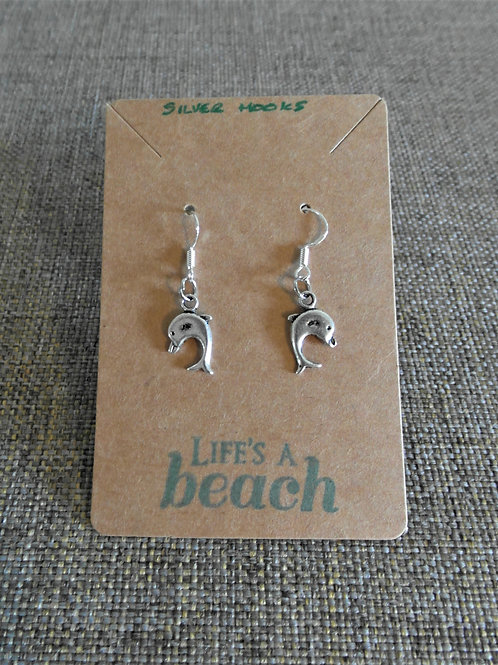 Dolphin Earrings With Hooks