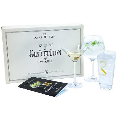 Gintuition Set of Dartington Glasses