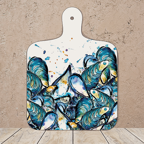 Mussels Small Chopping Board