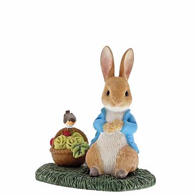 Beatrix Potter, Peter Rabbit with Basket, Mini Figure, A29192