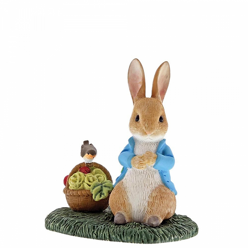 Beatrix Potter, Peter Rabbit with Basket, Mini Figure, A29192