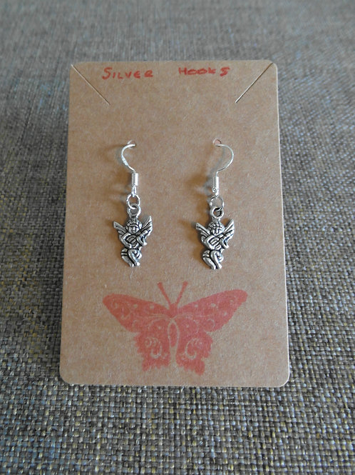 Angel Earrings With Hooks