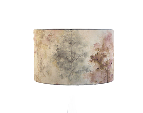 Woodland Rosemist Handmade Shade, Drum or Empire Shapes