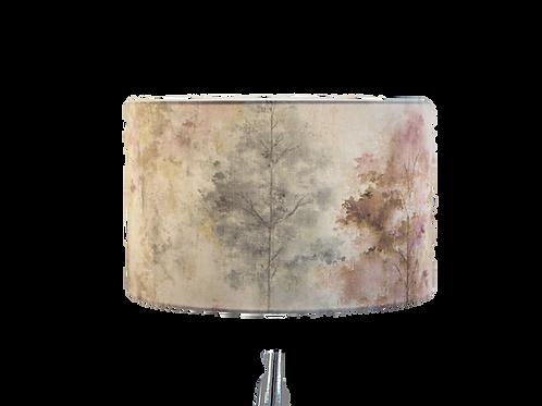 Woodland Rosemist Handmade Shade, Drum or Empire Shapes