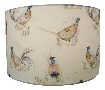 Voyage Maison Dashing Pheasants Lampshade, Drum or Empire Shape
