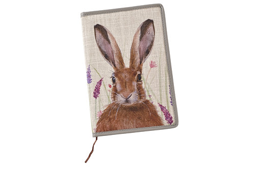 Lavender Hare Notebook
