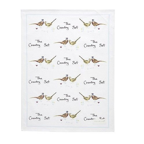 The Country Set, Tea Towel